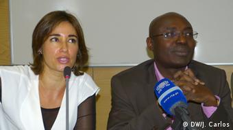 Portugal Lissabon Teresa Pina und Rafael Marques