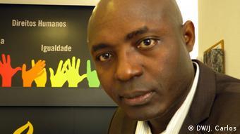 Portugal Lissabon Rafael Marques Menschenrechtsaktivist