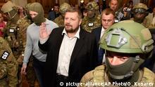 Ukraine, Abgeordneter Igor Mosijchuk verhaftet