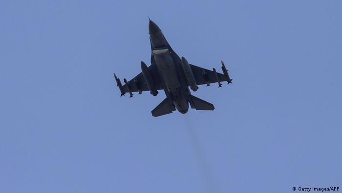 Турецкий боевой самолет
