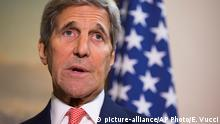 Großbritannien US-Außenminister John Kerry