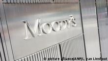 2014-10-11 00:00:00 NEW YORK - Credit rating company Moody's in New York. ANP XTRA LEX VAN LIESHOUT