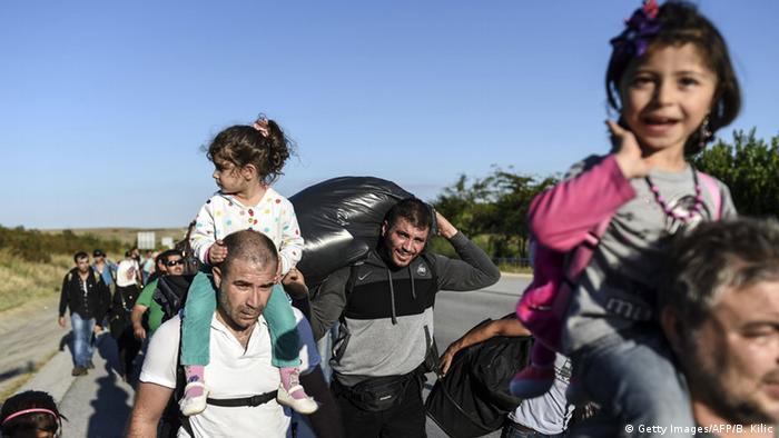 Беженцы на турецко-болгарской границе
