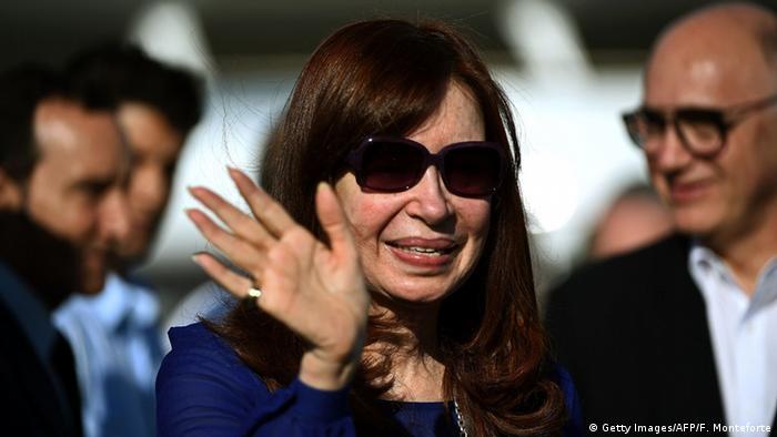 Argentinien Cristina Fernandez de Kirchner in Kuba
