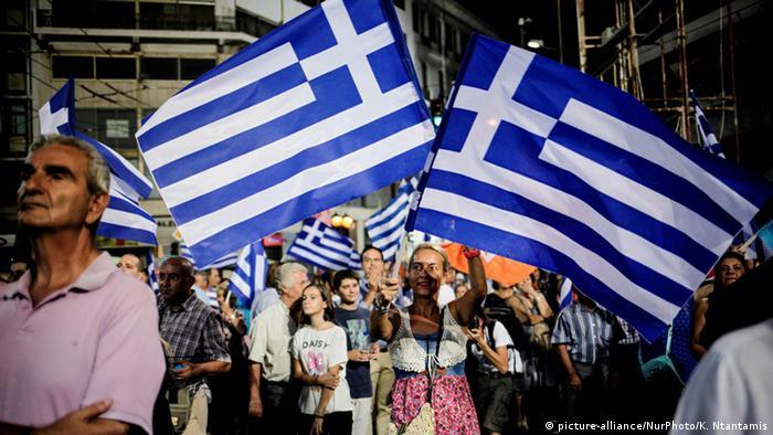 Griechenland Athen Wahlen Wahplakate Symbolbild