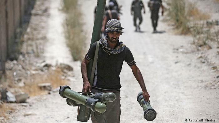 Syrien Freie Syrische Armee Symbolbild US Training Rebellen