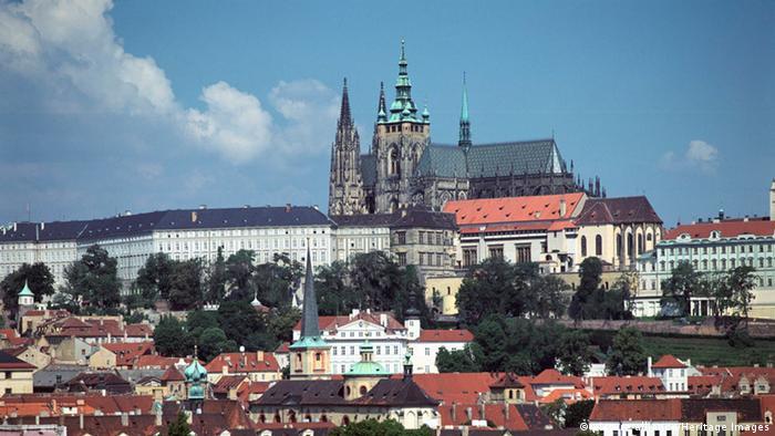 Tschechien Prag Prager Burg Hradschin