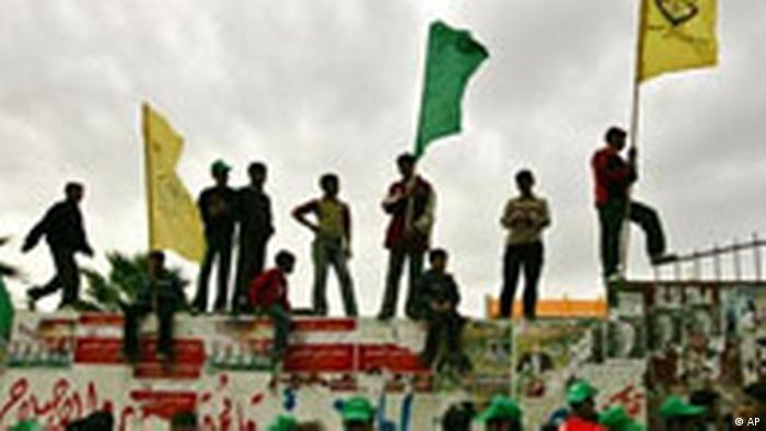 Wahlen in Palästina Hamas Reaktionen