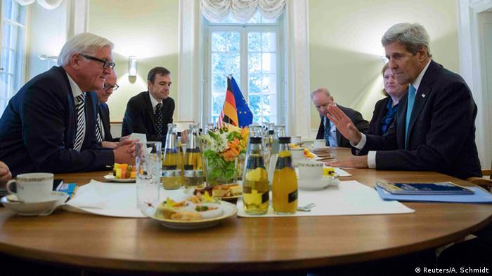 Deutschland USA Außenminister Kerry & Steinmeier in Berlin