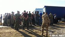 Ukraine Blockade LKW-Lieferungen für die Krim