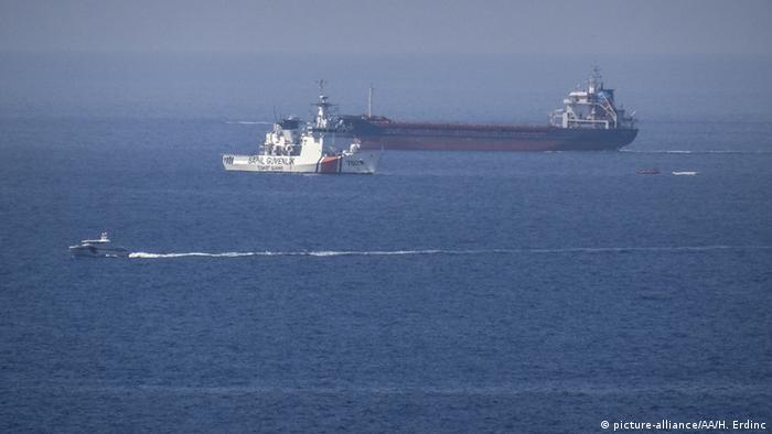 Türkei Zusammenstoß Flüchtlingsboot mit Fähre