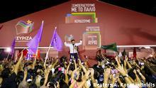 Griechenland Athen Wahlen Alexis Tsipras