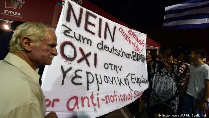 Griechenland Athen Wahlen Anhänger Syriza