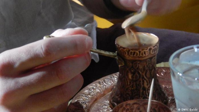 Bosnien und Herzegowina Tradition Kaffeetrinken