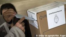 Symbolbild Argentinien Wahlen
