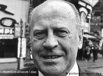 Oskar Schindler (Archivbild von 1967) half Stella Müller-Madej