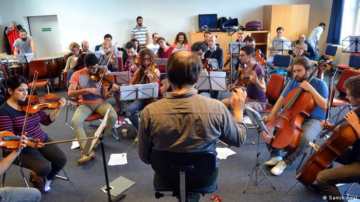 Orquestra Filarmônica de Emigrantes Sírios se apresentou em Bremen