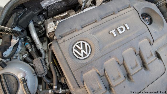 Deutschland VW Symbolbild zum Abgasen-Skandal