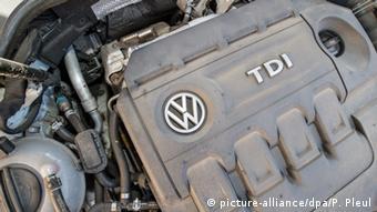 A VW diesel engine