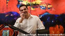 Griechenland Alexis Tsipras Sieger der Parlamentswahlen