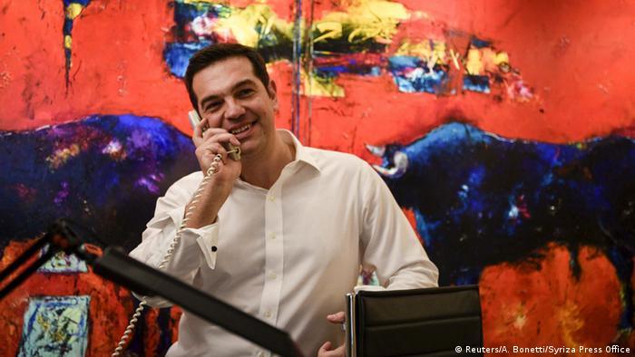 Griechenland Alexis Tsipras Sieger der Parlamentswahlen (Reuters/A. Bonetti/Syriza Press Office)