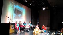 Deutschland Indien Gesang und Tanzprogramm an Tagore