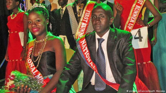 Uganda Schönheitswettbewerb für HIV-Positive