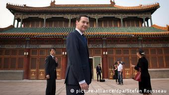 George Osborne Exchequer Bisuness Wirtschaft Großbritannien China Peking