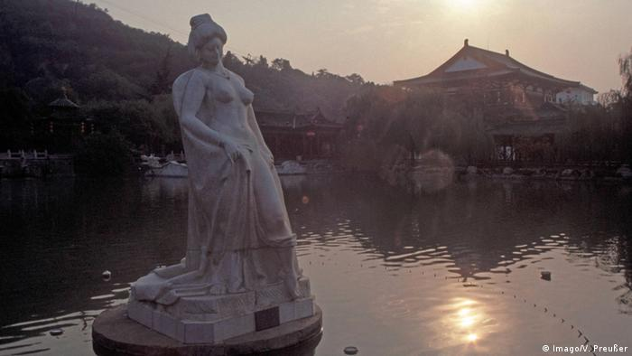 China Skulptur der Konkubine Yang Guifei