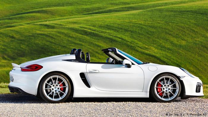 Porsche - Boxster Spyder 2015