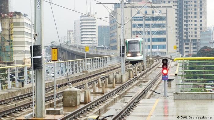 Äthiopien U- und Straßenbahn in Addis Abeba
