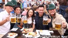 29.09.2013., Muenchen, Germany - Oktoberfest is the world's largest fair. It is 16-day festival running from late September to the first weekend in October with more than 6 million people from around the world attending the event every year. Photo: Goran Stanzl/PIXSELL