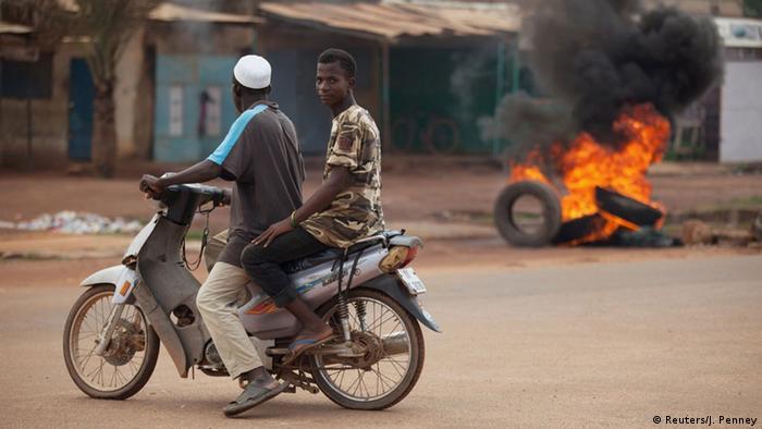 Burkina Faso, Unruhen in Ouagadougou (c: REUTERS/Joe Penney)