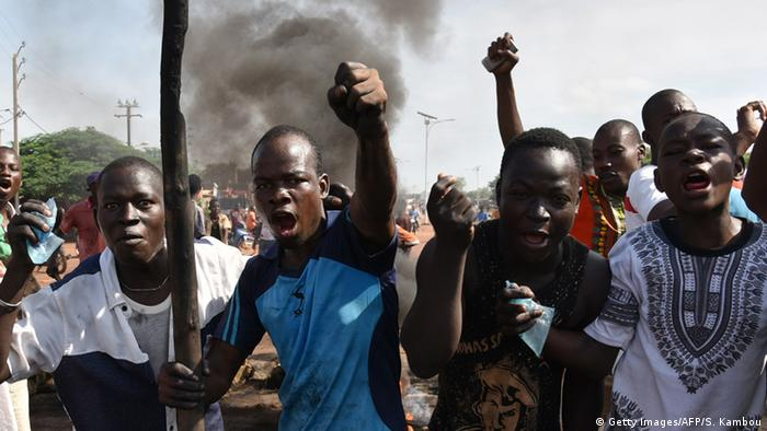 Burkina Faso Protests (Getty Images/AFP/S. Kambou)