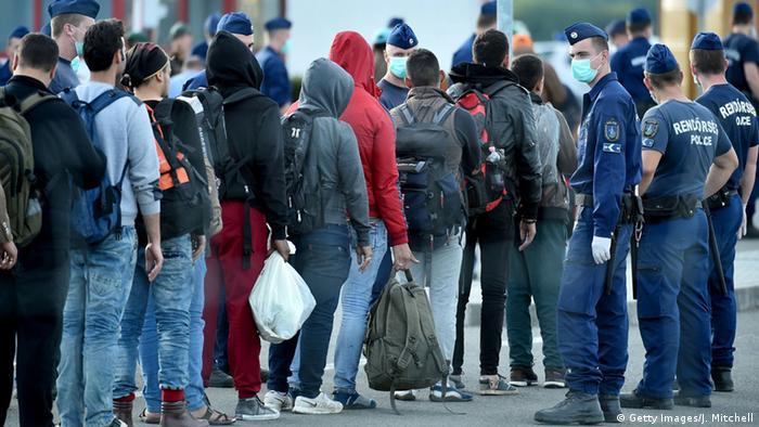 Ungarn, Flüchtlinge an der Grenze zu Kroatien