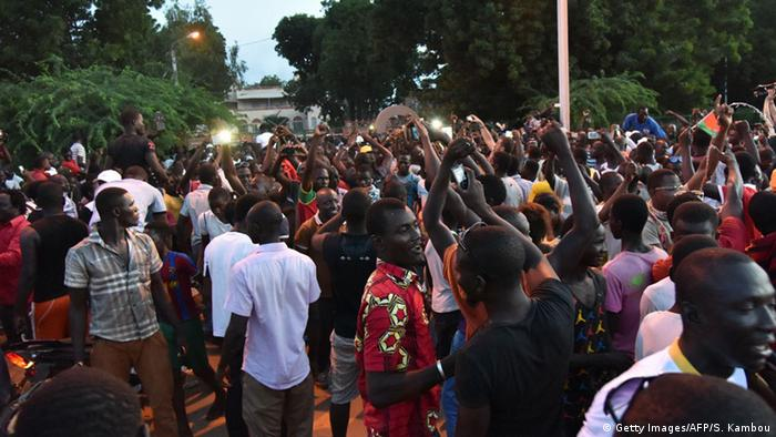 Burkina Faso Protest (Foto: Getty Images/AFP/S. Kambou)