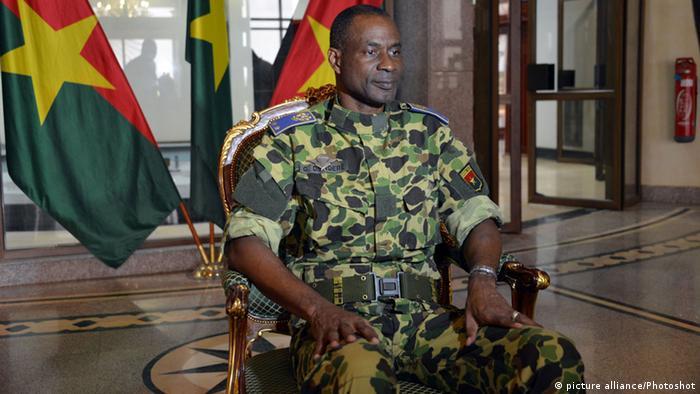 Burkina Faso Ouagadougou General Gilbert Diendere