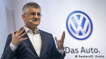Michael Horn, presidente de Volkswagen de EE. UU.