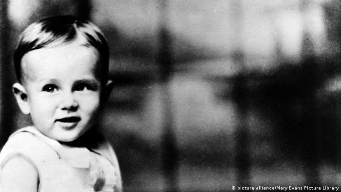 Kinderfoto von James Dean