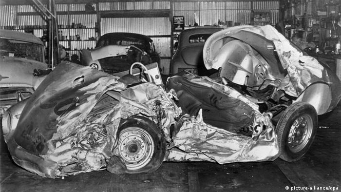 Unfallauto von James Dean