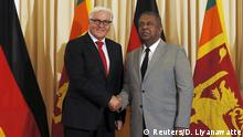 Sri Lanka Besuch Steinmeier in Colombo