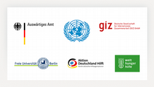 Logos der Auftraggeber und Kunden der DW Akademie
