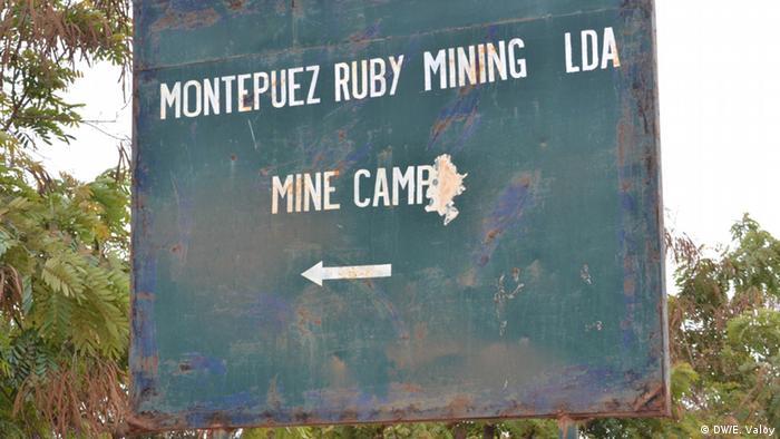 Mosambik Illegale Edelstein-Minen