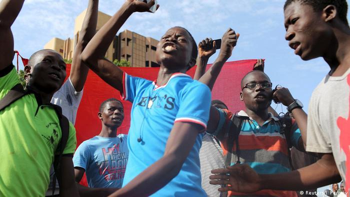 Protests in Burkina Faso