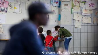 Deutschland Flüchtlingsunterkunft in Neu-Isenburg