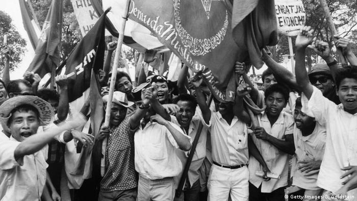 Indonesien Suhartos Weg zur Macht (Bildergalerie) (Getty Images/C. Goldstein)