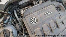 Deutschland Volkswagen Dieselmotor