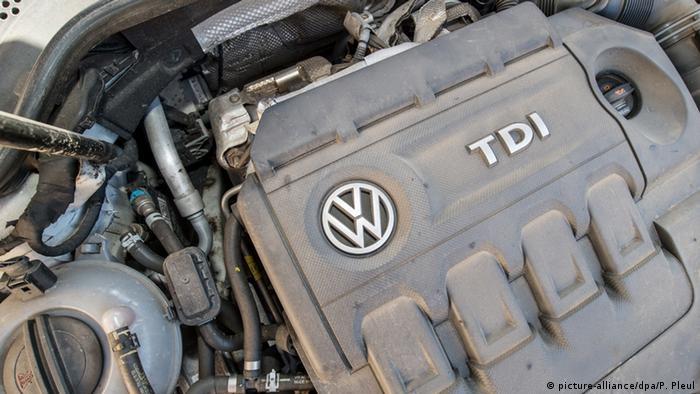 Volkswagen diesel motor