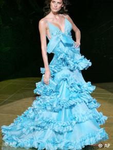 Mode Haute Couture in Paris Bildgalerie II Elie Saab