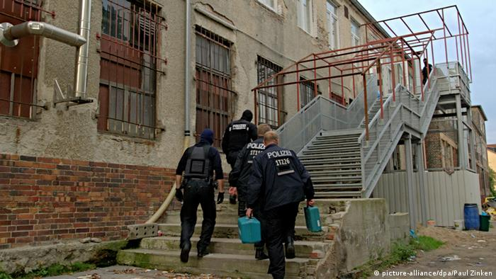 Полицейские проводят обыск в одной из мечетей Берлина